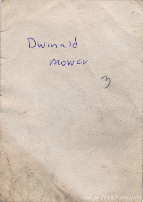 Dwinald Seward Mower